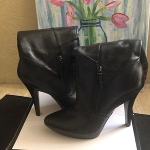 Nine West platform knee boots